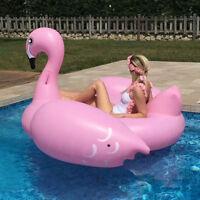 Flotador colchoneta SPR Gigante hinchable Flamenco para piscina playa diversion