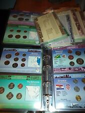 Coins of the World 68 Coin Sets in Custom Holders Littleton Massive Collection!