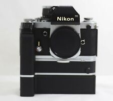 NIKON F2 CAMERA BODY WITH DP-1 FINDER MD-1 AND MB-1 MOTOR DRIVE