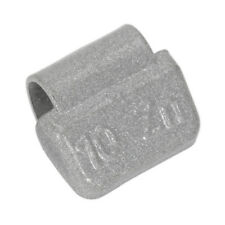 WHEEL WEIGHT 10G HAMMER-ON PLASTIC COATED ZINC FOR ALLOY WHEELS PACK OF 100 SEAL