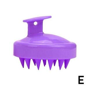 Silicone Scalp Massage Brush Washing Massager Shower Head Hair Comb household