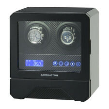 BARRINGTON DIGITAL DOUBLE WATCH WINDER FOR TWO 2 WATCHES