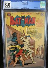 BATMAN #70 CGC 3.0 1952 PENGUIN APPEARANCE
