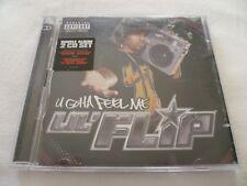"""Lil Flip """"U Gotta Feel Me"""" 2 x Europe CD Album (2004) Ft. Ludacris, Cam'Ron"""
