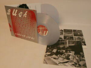 90s Rock BUSH sixteen stone 2014 UK 180g Double Clear Vinyl LP + Inners N Mint