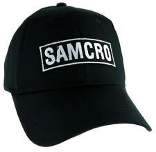 SAMCRO Sons of Anarchy Motorcycle Club Redwood Original Hat Baseball Cap Biker