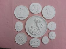 10 Grand Tours Cameos Intaglios Gems Medallions plaster Tassie Seals Scenes