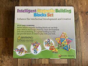 Intelligent Magnetic Building Blocks Set - Desire Deluxe - Brand New & Sealed