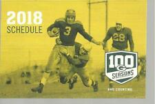 (2) 2018 Green Bay Packers Schedule 100 Seasons and Counting Free Fast SnH L@@K!