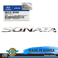 GENUINE Emblem Trunk REAR for 2006-2010 Hyundai Sonata OEM 86310-3K000