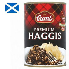 HAGGIS - Grants Scottish Premium Tinned Haggis 392g, food from Scotland - 6 tins