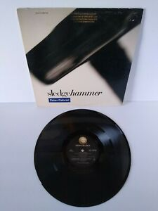 """Peter Gabriel Sledgehammer Vinyl 12"""" EP Record New Wave Synth-Pop 4 Track Promo"""
