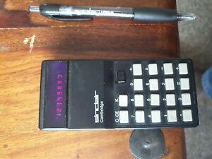 Vintage Sinclair Cambridge Calculator.