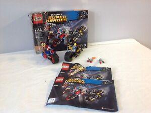 Lego 76053 DC Comics Batman Gotham City Cycle Chase Missing Dead shot Figure!