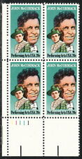 US #2090 20¢ John McCormack Plate Block MNH