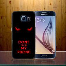 Fundas y carcasas brillantes de plástico para teléfonos móviles y PDAs sin anuncio de conjunto