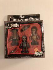 Cinema of Fear Mez-ItzLeatherface Freddy Jason Mezco Toyz New In Box.