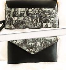 TWD Clutch/Shoulder Bag Handbag The Walking Dead Decoupage Bag. Handmade