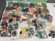 Lot of 62 Glass Crystal Acrylic Clay Beads