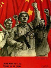 La Cina Propaganda Unione SOVIETICA COMUNISMO Arte Poster Stampa lv6962