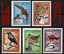 WEST SAHARA 1993 BIRDS / raptors / falcon MNH complete SET