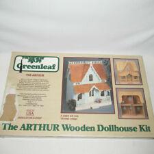 Vintage Greenleaf 8012 The Arthur Victorian Wooden Dollhouse Kit