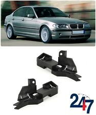 NEW BMW 3 SERIES E46 2001 - 2005 LCI FRONT BUMPER BRACKET MOUNT GUIDE PAIR SET