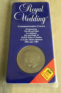 Royal Wedding Commemorative Crown of H.R.H. Charles And Diana. 1981