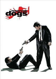 RESERVOIR DOGS  PROMOTIONAL SIGN. RUSTPROOF 28 X 19CM  FILM MEMORABILIA