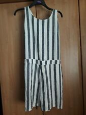 L@@K NWT F&F SIZE 22 HIPPIE BOHO DUNGAREE STYLE? SUMMER BEACH HOLS PLAYSUIT