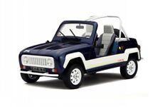 Renault 4 R4 JP4 blue resin modelcar OT212 Otto 1:18