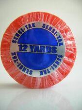 """Original WALKER TAPE Brand SENSI-TAK Red Line Tape Roll 3/4"""" X 12 yard roll"""