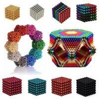 3/5mm 216pcs 2018 Bolas Magnéticas Cuentas Mágicas 3D Puzzle Ball Esfera