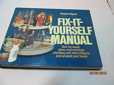 READER'S DIGEST FIX-IT YOURSELF MANUAL AROUND THE HOUSE