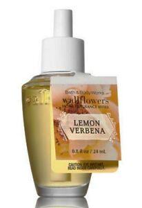 Lemon Verbena Wallflower Fragrance Bulb Bath Body Works 0.8oz NEW citrus zest