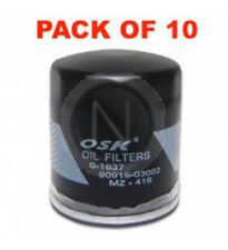 OSAKA OIL FILTER OZ418 INTERCHANGEABLE WITH RYCO Z418 (BOX OF 10)