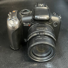 Canon PowerShot SX20 IS 12.1MP Digital Camera Working Body and lens only