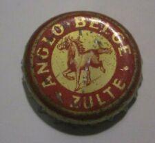 """ancienne capsule de bière  belge """"ANGLO - BELGE """" ZULTE à saisir"""