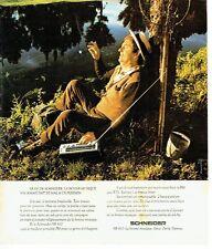 PUBLICITE ADVERTISING 037  1975   Schneider  transistor SR 810