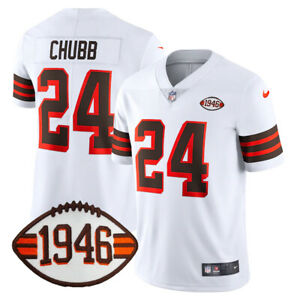 Nick Chubb #24 Cleveland Browns 1946 Patch Jersey PRE-ORDER (S-3XL)