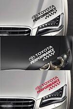 Per TOYOTA-controlli delle prestazioni-HEADLIGHT-Auto Decalcomania Sticker-CELICA SUPRA