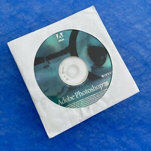 Photoshop 7.0 for Windows Full Version (CD & Serial Number)