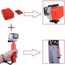 Orange Floating Grip Pole Monopod+Floaty Float Sponge For GoPro Hero 1 2 3 3+ 4