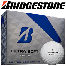 """NEW 2018"" BRIDGESTONE EXTRA SOFT WHITE GOLF BALLS / 12 BALL / DOZEN PACK !!!!!!"