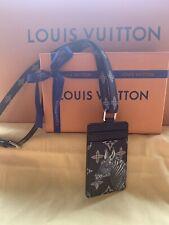 Louis Vuitton Savane Monogram Chapman brothers Badge Holder