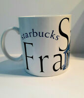 San Francisco City Mug Collector 1994 Starbucks Coffee Blue 20 fl oz Cup EUC