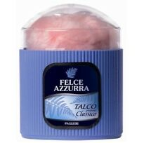 PAGLIERI Felce Azzurra Classico Körperpuder mit Schwämmchen 250g Talkum talco