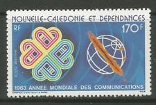 STAMPS-NEW CALEDONIA. 1983. Communications Year Commem. SG: 693. MNH.