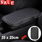 Auto Car Armrest Pad Cover Center Console Box Cushion Mat Pu Leather Protector