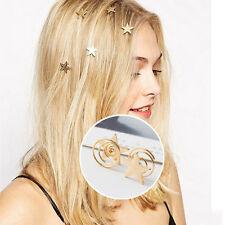 Cute Star Hair Pin Vintage Hair Clip Barrette Bobby Pins Grips Fashion Jewelry